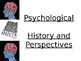 History and Perspectives of Psychology PowerPoint