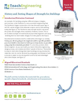 History and Testing Shapes of Strength for Buildings