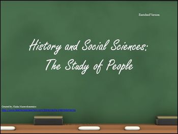 History and the Social Sciences The Study of Humans Bundle
