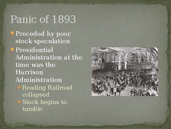 History by Decades - U.S. & The 1890s