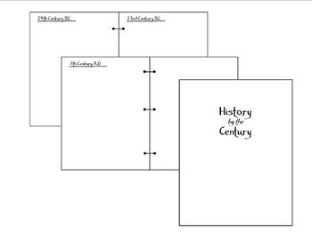 History by the Century - Book of Centuries - Charlotte Mason Timeline