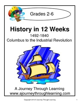 History in 12 Weeks Unit Study