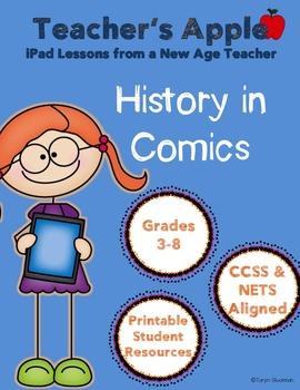 History in Comics iPad Project