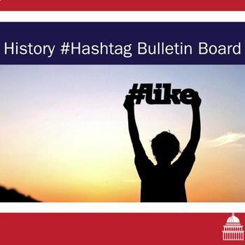 History in Hashtag Bulletin Board Display