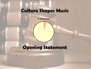 Music in History- Debate - Does Music Shape Culture or Culture Shape Music?