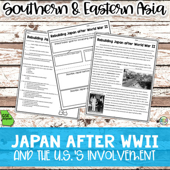 History in Southern & Eastern Asia BUNDLE Reading Packets (SS7H3)