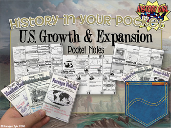History in Your Pocket: U.S. Growth & Expansion Pocket Notes