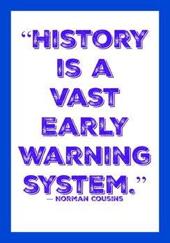 History it is important because.......