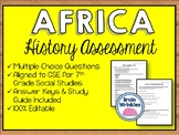 History of Africa Assessment (SS7H1)