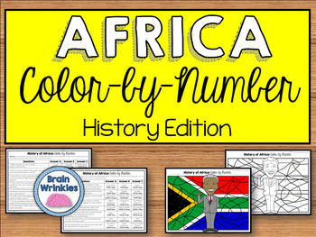 History of Africa: Color by Number (SS7H1)