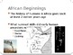 History of Africa PowerPoint