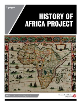 History of Africa Project