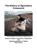 History of Agriculture - Crossword