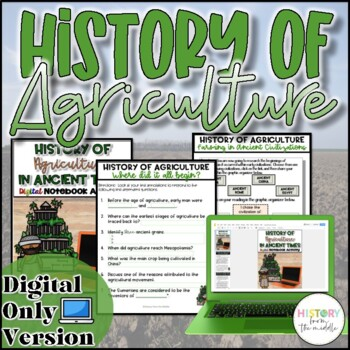 History of Agriculture in Ancient Civilizations {Digital}