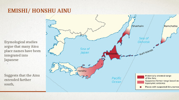 History of Ainu in Japan Powerpoint