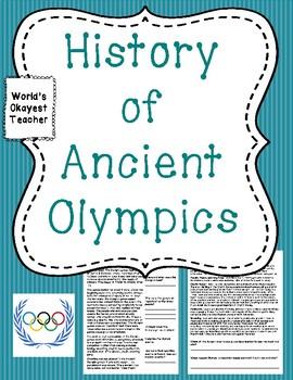 History of Ancient Olympics