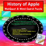 History of Apple - WebQuest / Internet Scavenger Hunt