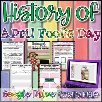 History of April Fool's Day {Digital AND Paper}