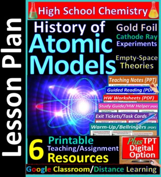 History of Atomic Models, Empty Space Theory: Essential Skills Worksheet #10