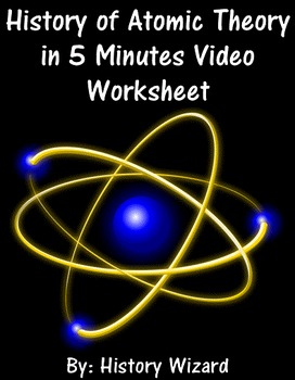 History of Atomic Theory in 5 Minutes Video Worksheet