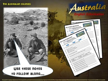 History of Australia - British Colonization (Part 3 of a 4-PART unit)
