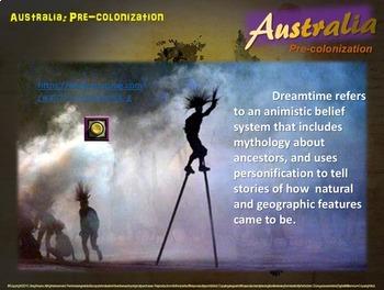 History of Australia - Pre-Colonization & Aboriginals (Part 2 of a 4-PART unit)