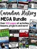 History of Canada Mega Bundle