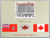 History of Canada's Flag - Secondary School PowerPoint Presentation