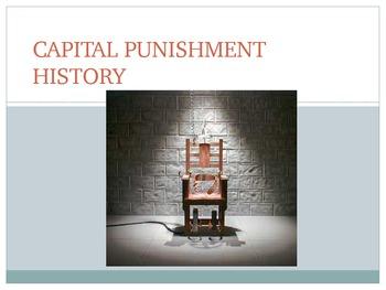 History of Capital Punishment