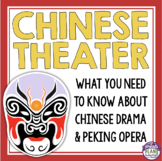 CHINESE THEATER DRAMA PRESENTATION