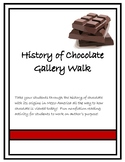 History of Chocolate Gallery Walk Activity
