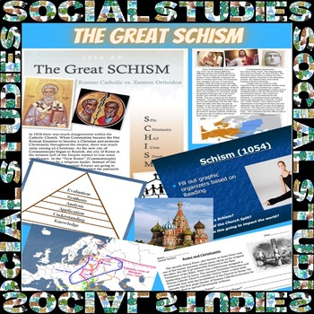 History of Christianity: The Great Schism of 1054 Common Core/Close Read
