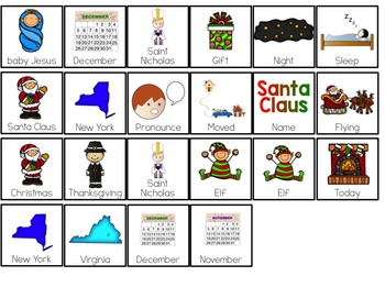 History of Christmas Adapted Book { Level 1 and Level 2 } Christmas