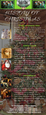 History of Christmas Poster - Decorate your second home.