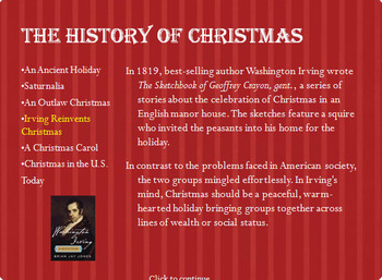 History of Christmas Powerpoint