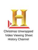 History of Christmas Video Worksheet