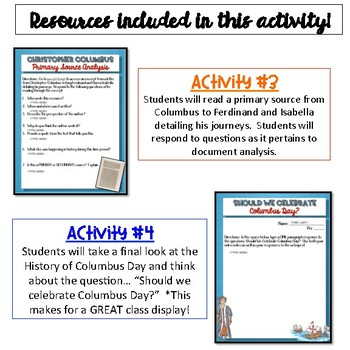 History of Columbus Day {Digital}