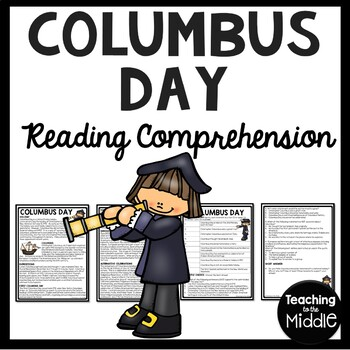 History of Columbus Day Reading Comprehension; October; Ex