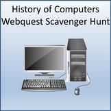 History of Computers Webquest Scavenger Hunt Activity