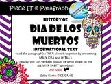 History of DIA DE LOS MUERTOS activity