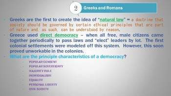 History of Democracy PowerPoint - AP Government / Government / US History