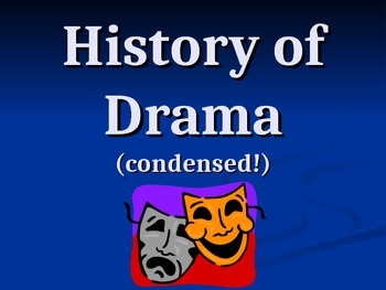 History of Drama