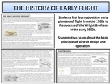 History of Early Flight - Swedenbourg to Wright Brothers