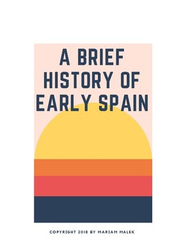 History of Early Spain