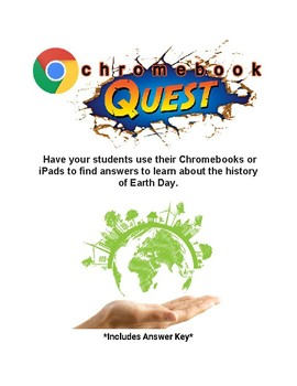 History of Earth Day WebQuest