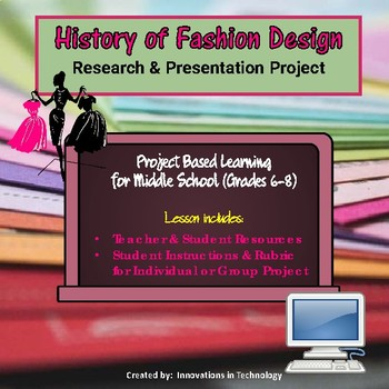 History of Fashion Design - Research & Presentation Project