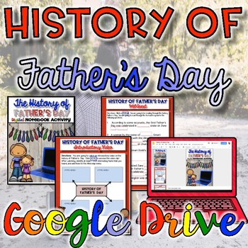 History of Father's Day {Digital}