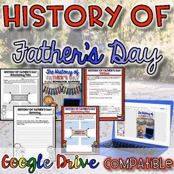 History of Father's Day {Digital AND Paper}