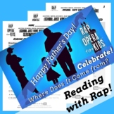 History of Father's Day Synonyms Antonyms Passage with Worksheets Using Rap Song