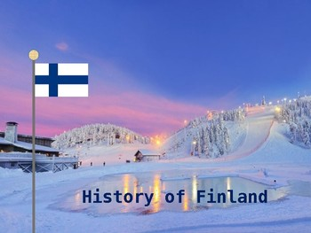History of Finland PowerPoint - a celebration of 100 years of independence